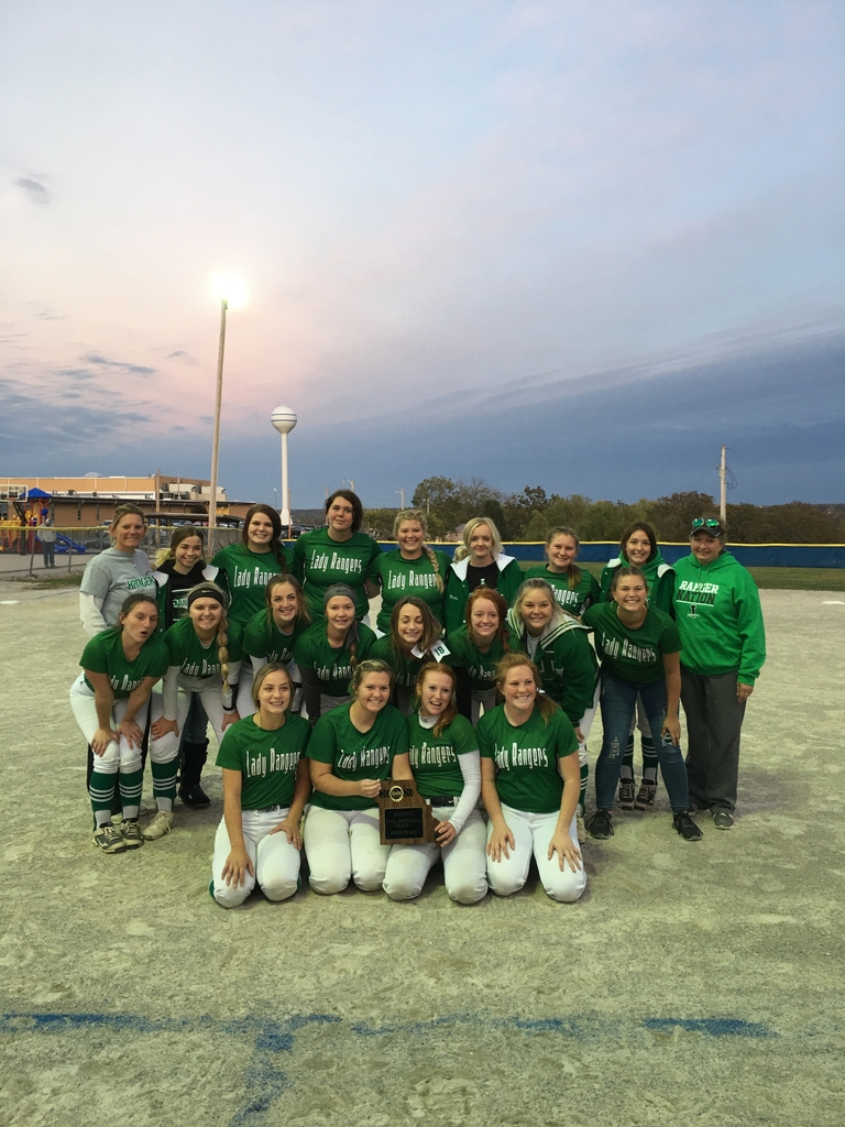 District champs softball